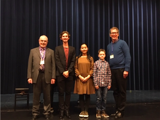 Junior Daniel Maton and seventh grader Adam Bezard both received the highest score of I+, meaning a performance close to perfection and at the level of a conservatory musician.