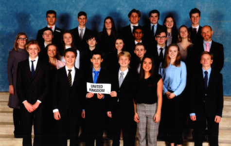 ASH students represented the United Kingdom at THIMUN this year.