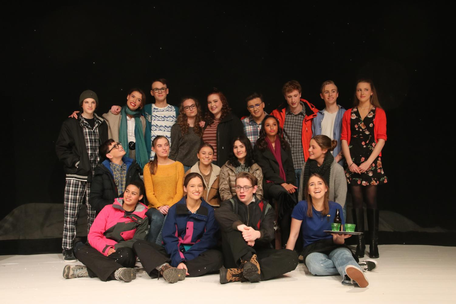 The cast of Almost, Maine.