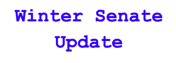 Student Senate Winter Update
